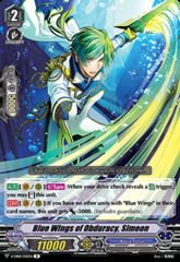 Blue Wings of Obduracy, Simeon - V-EB08/030EN - R