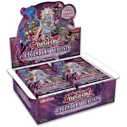 Legendary Duelists: Immortal Destiny Booster Box