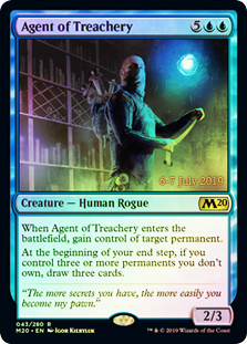 Agent of Treachery (M20 Prerelease Promo)
