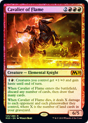 Cavalier of Flame - Foil (Prerelease)