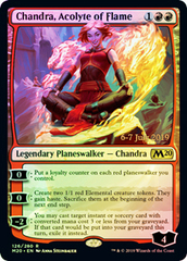 Chandra, Acolyte of Flame (M20 Prerelease Promo)