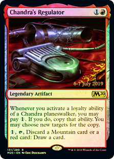 Chandras Regulator - Foil - Prerelease Promo