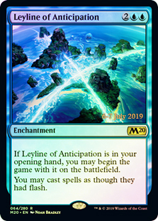 Leyline of Anticipation - Foil - Prerelease Promo