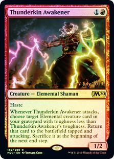 Thunderkin Awakener - Foil - Prerelease Promo