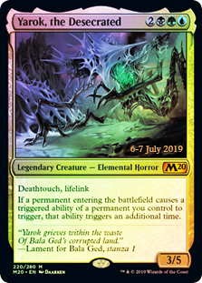 Yarok, the Desecrated - Foil - Prerelease Promo