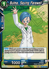Bulma, Saying Farewell - BT7-033 - C