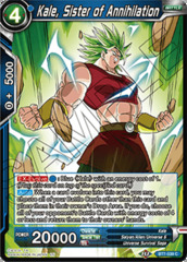Kale, Sister of Annihilation - BT7-039 - C - Foil