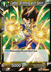 Cabba, Brimming with Spirit - BT7-082 - C - Foil