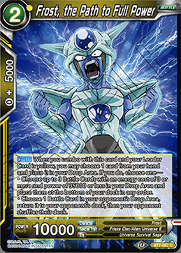 Frost, the Path to Full Power - BT7-087 - C - Foil