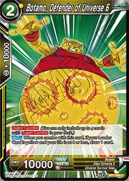 Botamo, Defender of Universe 6 - BT7-088 - C - Foil