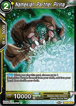 Namekian Partner Pirina - BT7-091 - C