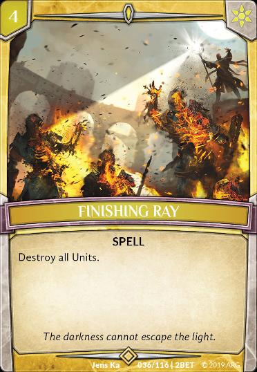 Finishing Ray