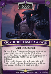 Gigath, the First Gargoyle