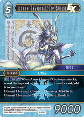 Azure Dragon l'Cie Soryu EX - 9-028L - Foil on Channel Fireball