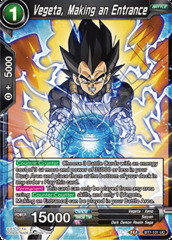Vegeta, Making an Entrance - BT7-101 - UC - Foil