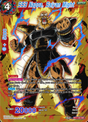 SS3 Nappa, Saiyan Might - BT7-125 - ISR