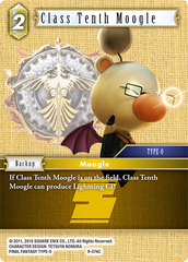 Class Tenth Moogle - 9-074C - Foil
