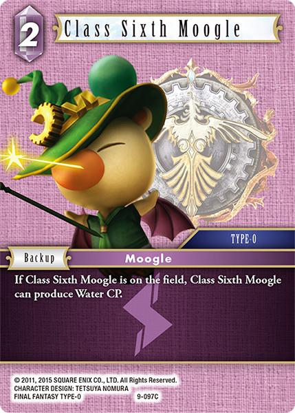 Class Sixth Moogle - 9-097C - Foil