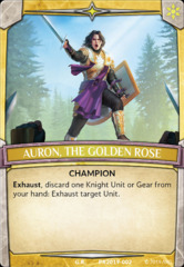 Auron, the Golden Rose Knight