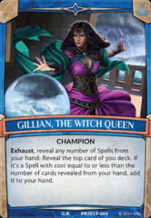 Gillian, the Witch Queen