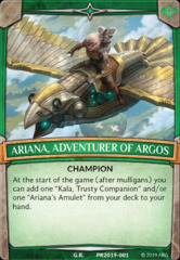 Ariana, Adventurer of Argos