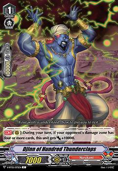 Djinn of Hundred Thunderclaps - V-BT05/075EN - C