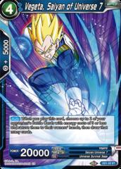 Vegeta, Saiyan of Universe 7 - XD1-02 - ST