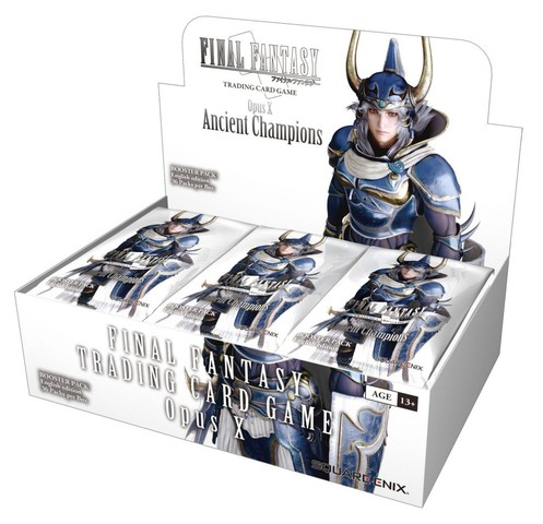 Final Fantasy TCG Opus X: Ancient Champions Booster Box