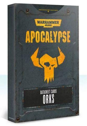 Apocalypse Datasheets: Orks (Eng)