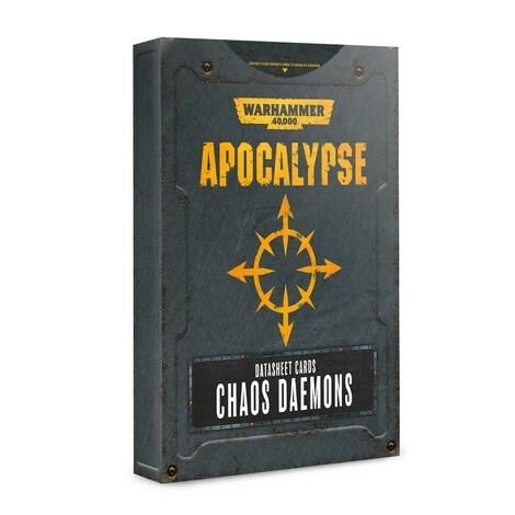 Apocalypse Datasheets: Chaos Daemons Eng