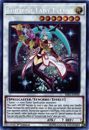 Fortune Lady Every - RIRA-EN038 - Secret Rare - 1st Edition