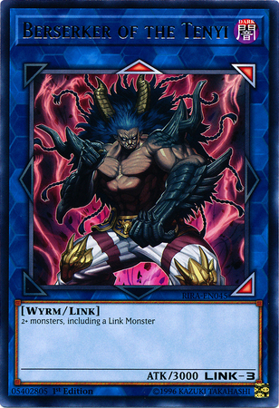 Berserker of the Tenyi - RIRA-EN045 - Rare - 1st Edition
