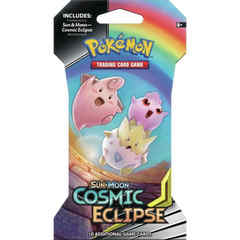 Sun & Moon - Cosmic Eclipse Sleeved Booster