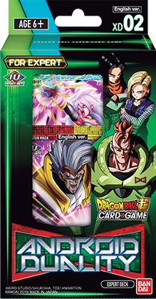 Dragon Ball Super - Series 8 Expert Deck - Android Duality