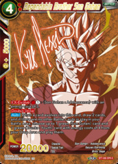 Dependable Brother Son Gohan - BT7-006 - SPRS