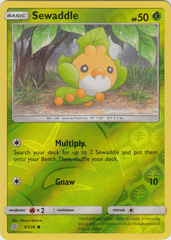Sewaddle - 6/236 - Common - Reverse Holo