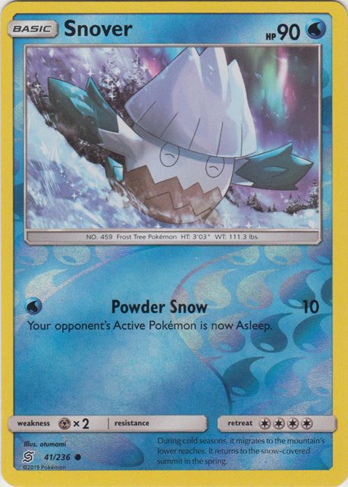 1 x Pokemon Giant Hearth 197//236 Reverse Holo Sun /& Moon—Unified Uncommon
