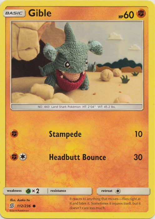Gible - 112/236 - Common