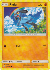 Riolu - 115/236 - Common