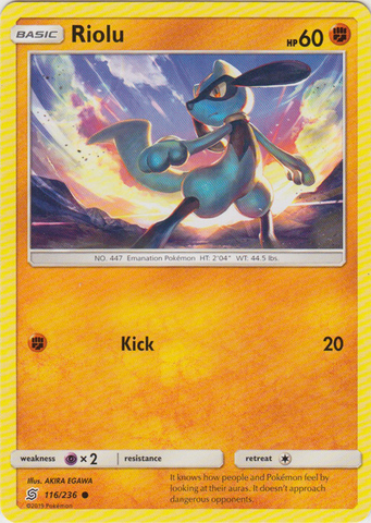 Riolu - 116/236 - Common