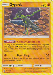 Zygarde - 124/236 - Rare