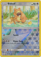 Bidoof - 171/236 - Common - Reverse Holo