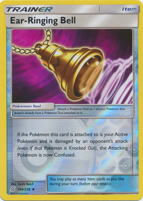 Ear-Ringing Bell - 194/236 - Uncommon - Reverse Holo