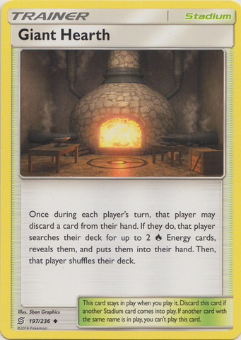 Giant Hearth - 197/236 - Uncommon