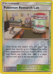 Pokemon Research Lab - 205/236 - Uncommon - Reverse Holo