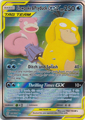 Slowpoke & Psyduck Tag Team GX -- 218/236 - Alternate Art