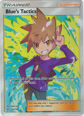 Blue's Tactics - 231/236 - Full Art Ultra Rare
