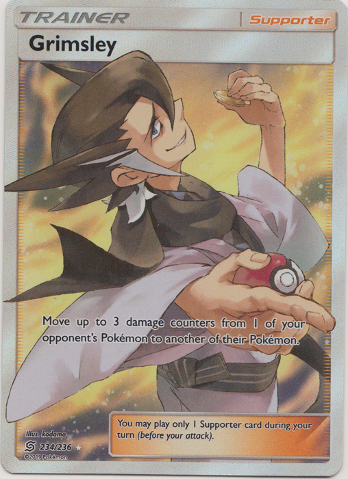 Grimsley - 234/236 - Full Art Ultra Rare