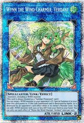 Wynn the Wind Charmer  Verdant - RIRA-EN046 - Prismatic Secret Rare - 1st Edition