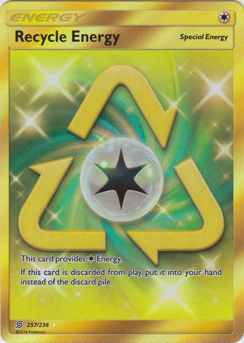 Recycle Energy - 257/236 - Secret Rare